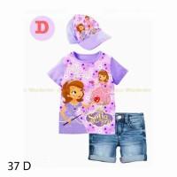 Junior Wardrobe JW 37 D – Top Jeans n Topi Putri Sofia