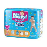 Baby Happy Pants Popok Bayi [Size L/ 20 pcs]