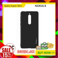 iPaky Super Slim Anti Fingerprint Soft Case For Nokia 8 Laris