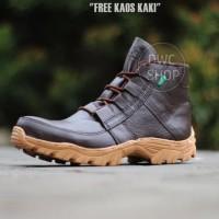Sepatu Kickers Ninja Kulit Asli Ujung Besi Safety Boots
