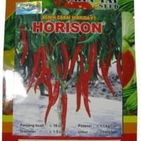 benih tanaman cabai cabe besar hibrida f1 horison 10 gr hidroponik
