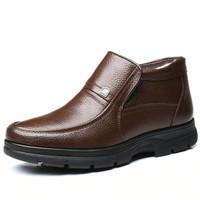 sepatu formal kulit boots pria