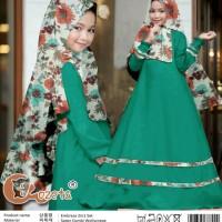 Pakaian Anak Perempuan Muslim Embrasa Gamis Kids 2in1 Tosca Talx.5570