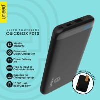 """UNEED Powerbank 10.000mAH Quick Charge With Power Delivery 3.0"""