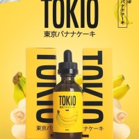 TOKIO BANANA 60ML SUDAH BERCUKAI LIQUID PREMIUM