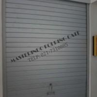 Rolling Door Galvalum atau Alumunium