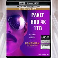 HDD 4K ULTRA Harddisk Western Digital 1TB Passport REMUX HEVC isi Film