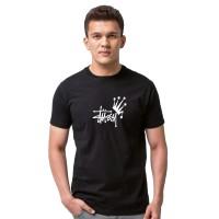 Kaos T Shirt Distro STUSSY KNOW Is KING FJ0232