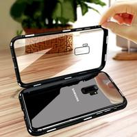 Samsung A6 Plus 2018 - Luxury Magnetic Metal Case