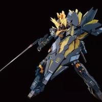 P.Bandai MG 1/100 Gundam unicorn Banshee norn (orange psycho frame)