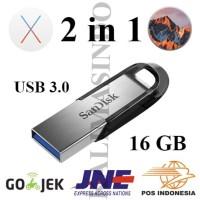2-in-1 Installer macOS Sierra dan El Capitan USB Flashdisk 3.0 16GB