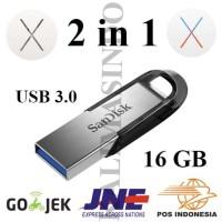 2-in-1 Installer MAC OS X Yosemite & El Capitan USB Flashdisk 3.0 16GB