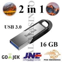 2-in-1 Installer macOS Sierra dan High Sierra USB Flashdisk 3.0 16GB