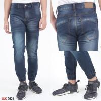 Celana Jeans Pria Jogger Biru Blitz JSK9621