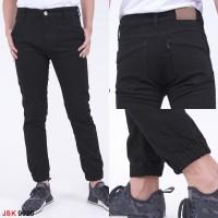 Celana Jeans Pria Jogger Hitam JSK9626