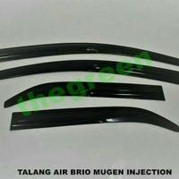 Talang air side visor brio injection