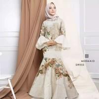 mermaid dress baju muslim wanita
