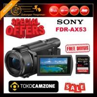 Sony FDR-AX53 4K Ultra HD Handycam Camcorder Free Bonus 1