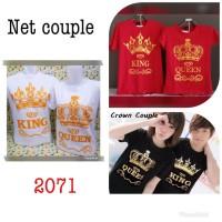 CP - Kaos Couple King&Queen