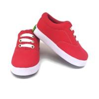 Sepatu Anak Laki-laki Perempuan Trendy Casual Merah by SHUKU
