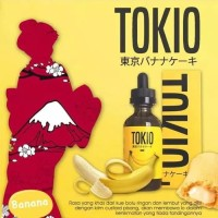 TOKIO - Banana Custard Nic.6mg - Premium liquid