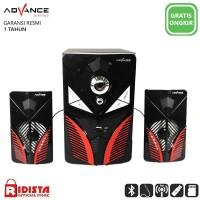 Speaker Aktif Advance M160 BT Bluetooth Subwoofer BASS T414