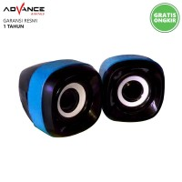 Speaker Advance Multimedia 2.0 Duo-040 XTRA POWER SOUND T415