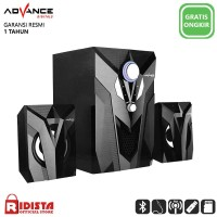 Speaker Advance Aktif Portable M10BT Bluetooth Subwoofer BASS -T403