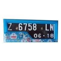 Jual Dudukan / Tatakan Plat Nomor Motor Doraemon Best Seller