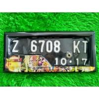 Jual Dudukan Plat Nomor Motor Gambar Dragon Ball Z | GRATIS ONGKIR