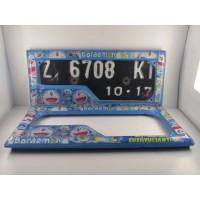 Jual Promo Cover Dudukan Casing Plat Nomor Motor Doraemon Full