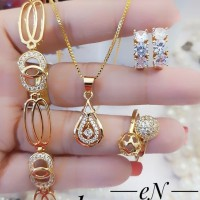 Set perhiasan xuping lapis emas 24k 1236