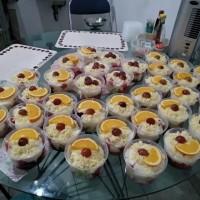 Salad Buah Creamy, Hanya Gosend dan Grab