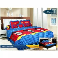Bed cover set California king size 180x200cm - BC mickey mouse