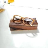 kacamata kayu vintage kacamata korea kacamata minus pria wanita