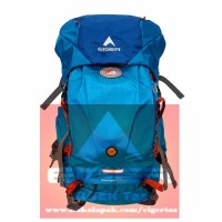Tas Ransel Carrier EIGER RHINOS 1242 Blue 45L + Rain Cover