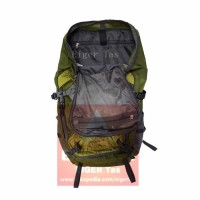 Tas Carrier Eiger 1264 Gekkota 45L Green - Tas Ransel Gunung -Backpack