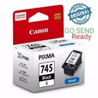 CANON Catridge PG 745 s SMALL Black ORIGINAL Tinta hitam PG745s PG745