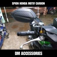 SPION CARBON BEAT VARIO SCOOPY PCX SUPRA X CB & SEMUA MOTOR HONDA