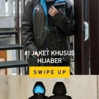 jaket hijab wanita