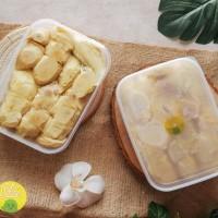 2 box durian kupas asli medan