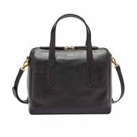Fossil Sydney Leather Satchel Bag Tas Wanita