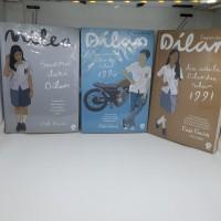 Set Novel Milea Dilan 3 buku Pidi Baiq Suara dari dilan dilanku 90 91
