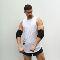 Elastic Elbow Support Gym Fitness Sports Knitted Sponge 2pcs Protector