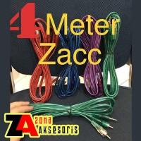 4 Meter - Kabel RCA 2-1 Kabel Audio dari HP ke speaker 4M