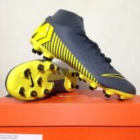 Sepatu Bola Nike Superfly 6 Academy FG/MG Dark Grey AH7362-070 Ori