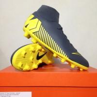 Sepatu Bola Nike Superfly 6 Club FG/MG Dark Grey AH7363-070 Original