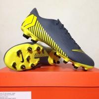 Sepatu Bola Nike Vapor 12 Academy GS FG/MG Dark Grey AH7375-070 Ori