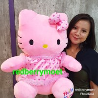 boneka hello kitty jumbo / hello kitty besar