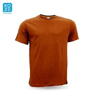 Kaos Polos Koze Combed 30 s ( Premium Comfort Choco Brown ) XXXL